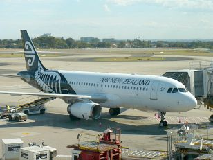 letadlo Air New Zealand