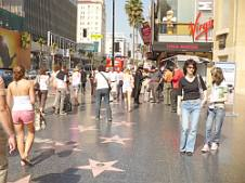 Los Angeles, Walk of Fame - chodník slávy